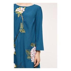 Anthropologie Dresses - NWT Varun Bahl Hydrangea Swing Dress - SZ 4